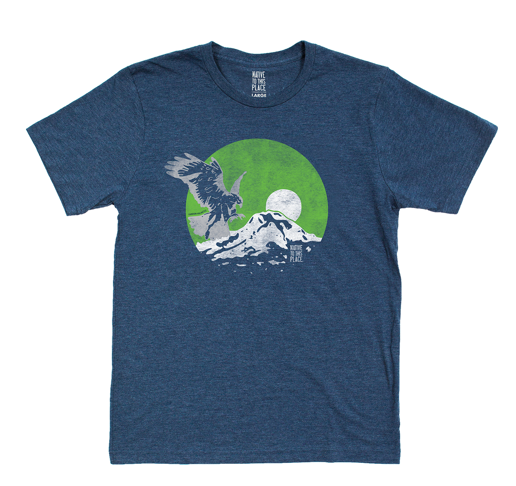 M's Mt. Rainier Osprey Eco Blend T-Shirt