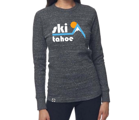 Retro Ski Tahoe Organic Thermal
