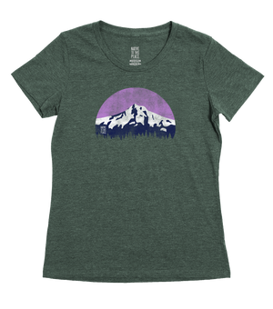 Women's Mountain Lover Eco 50/50 Blend T-Shirt