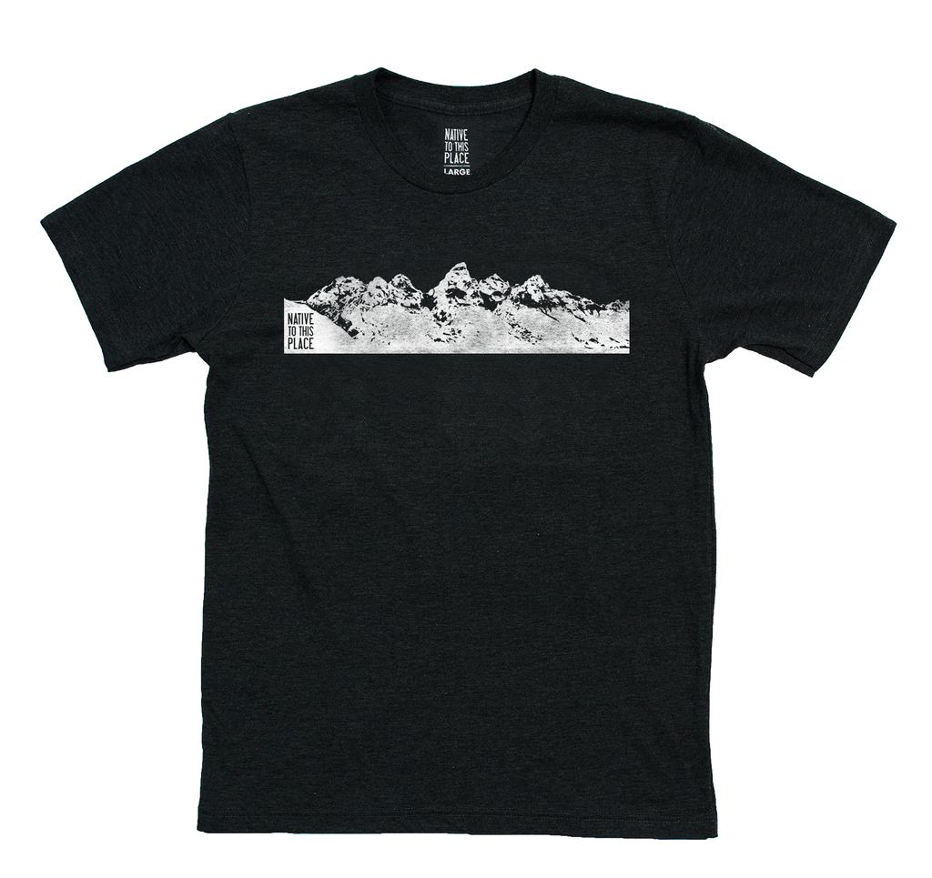 M's Grand Tetons Eco 50/50 Blend T-Shirt