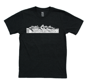 Unisex Grand Tetons Eco 50/50 Blend T-Shirt