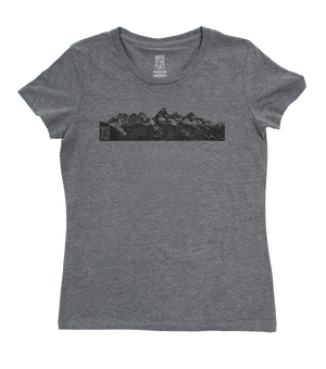 Women's Grand Tetons Eco 50/50 Blend T-Shirt
