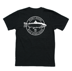 M's Puget Sound Wild Steelhead Eco 50/50 Blend T-Shirt