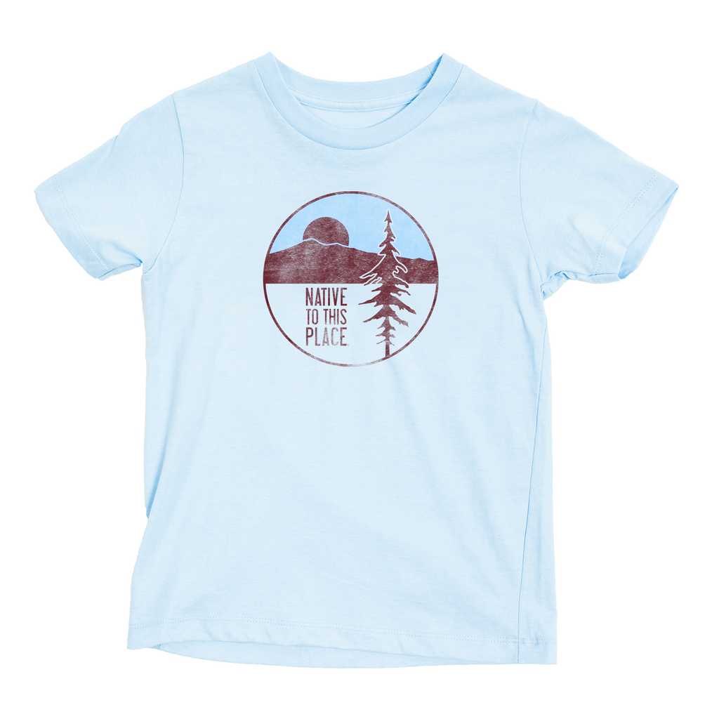 Kid's CA Redwood Organic Cotton T-Shirt
