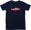 Kids' Little Red Fish Organic Cotton T-Shirt