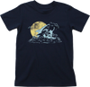 Kids' Great White Shark Surfer Organic Cotton T-Shirt