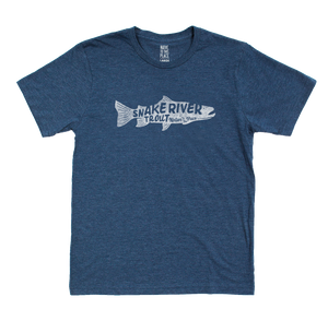 Snake River Trout Eco 50/50 Blend T-Shirt