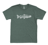 M's Snake River Trout Eco 50/50 Blend T-Shirt