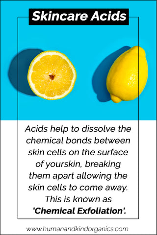 a to z of cosmetics acids