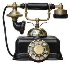 old fashioned telephone
