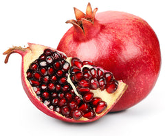 pomegranate fruit sliced