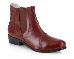 Fulham Auburn Ladies Brown Boots - Yull