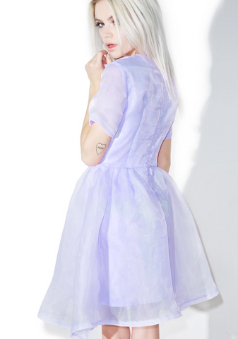 Wholesale Pearl Prism Flare Dress