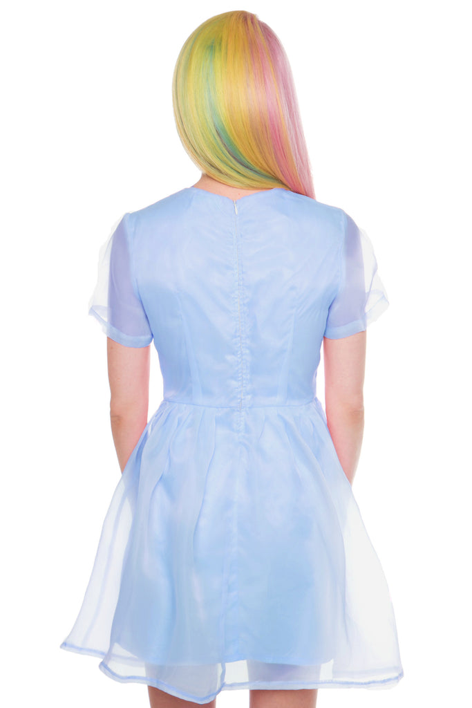 Pearl Prism Flare Dress
