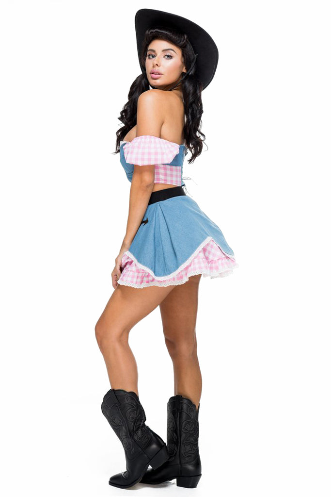 Rodeo Royalty Cowgirl Costume