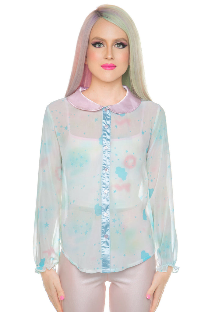 Daydream Sheer Blouse