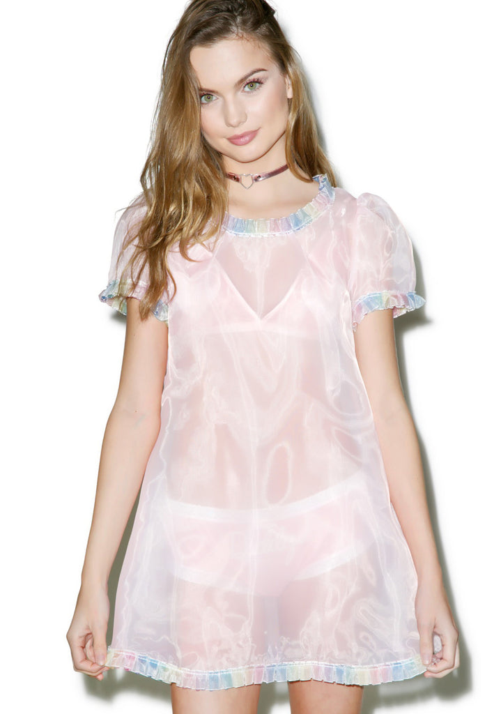Life Is But a Dream Sheer Dress
