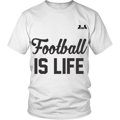 Football is life unisex shirt