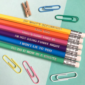 Welshisms 6 Pencil Bundle