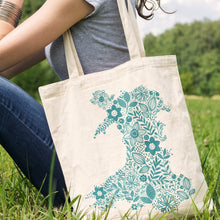 Load image into Gallery viewer, Wales in Bloom Tote Bag