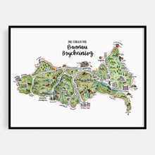 Load image into Gallery viewer, Bannau Brycheiniog Map Print
