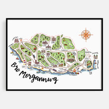 Load image into Gallery viewer, Bro Morgannwg Map Print