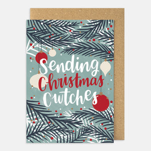 Sending Christmas Cwtches Card