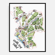 Load image into Gallery viewer, Neath Port Talbot Map Print