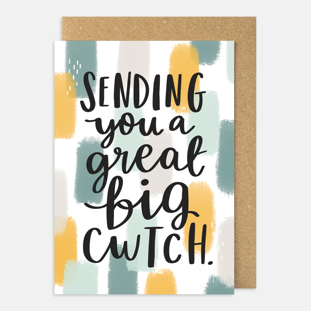 Sending You a Great Big Cwtch Card