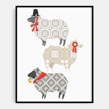 Load image into Gallery viewer, Welsh Sheep Print
