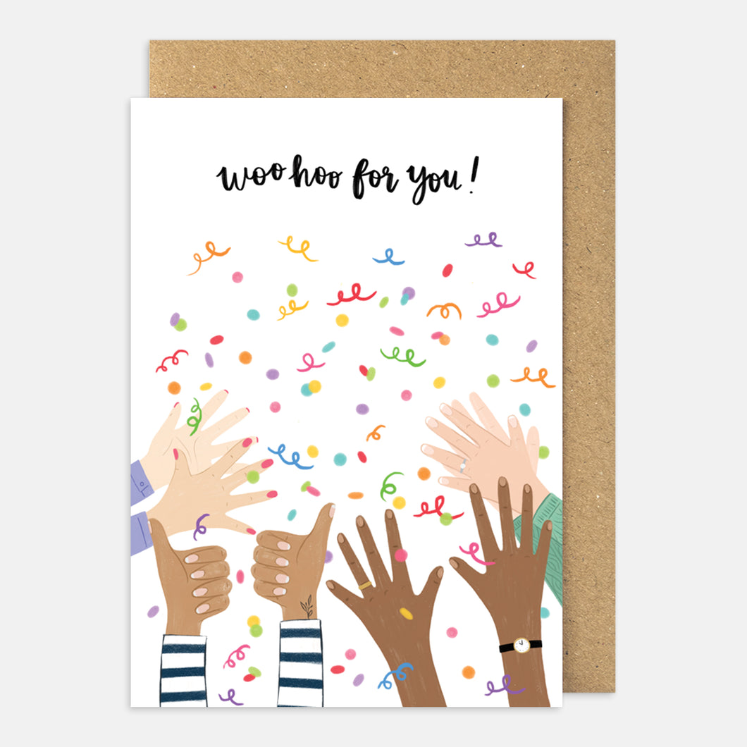 Woo Hoo For You Card