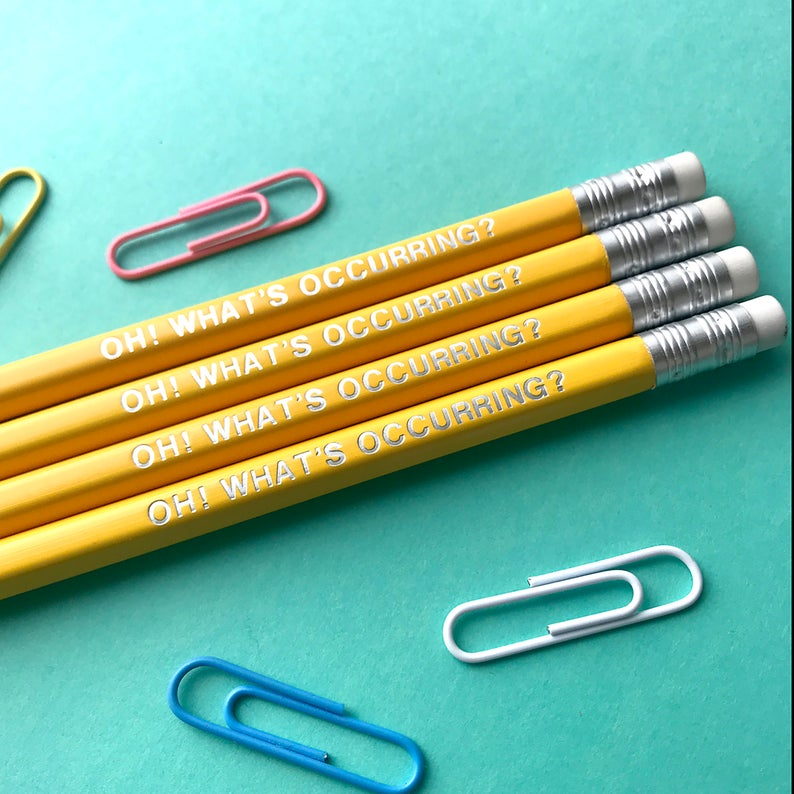 Oh! Yellow Welshism Pencil