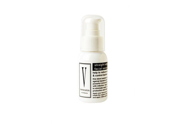 Straight Edge Organic Facial Serum 30mL