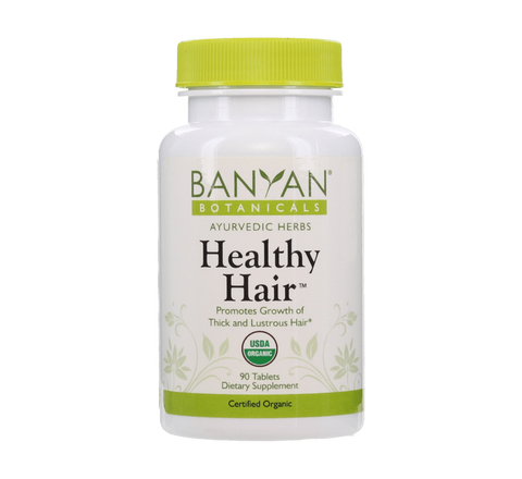 Healthy Hair Tablets - Certified Organic