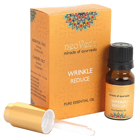 NeoVeda | Wrinkle Reduce | Essential Oil | Organe | Sandalwood Almond