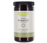 Brahmi Oil (Coconut) - Certified Organic - Sattvic Health Store  - An Ayurveda Products Store for Australia