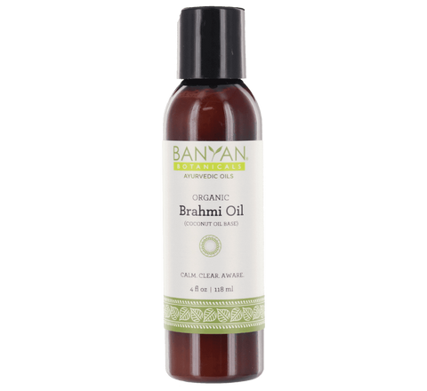 Brahmi Oil (Coconut) - Certified Organic