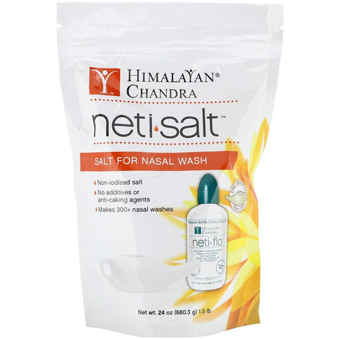 Himalayan Institute Neti Salt Bag |  680.8gm |  1.5lb | 300+ Nasal Wash