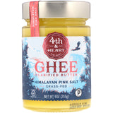 4th & Heart | Ghee Clarified Butter | Grass-Fed, Himalayan Pink Salt | 225gm