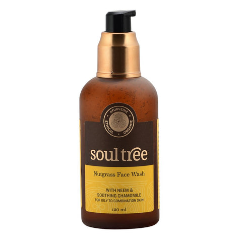 SoulTree | Nutgrass Face Wash With Neem & Soothing Chamomile