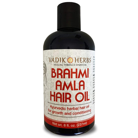Brahmi Amla Hair Oil | Ayurvedic herbal hair growth and hair conditioning oil