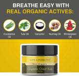 Breathe Free Chest Rub | For Cough & Cold | 25gm