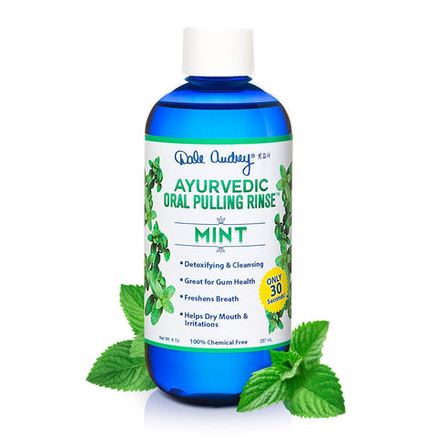 Oil Pulling Ayurvedic Mouthwash | Natural Mint