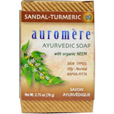 Ayurvedic Soap Sandal-Turmeric - Sattvic Health Store  - An Ayurveda Products Store for Australia
