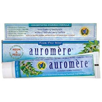 Ayurvedic Herbal Toothpaste Foam Free Mint