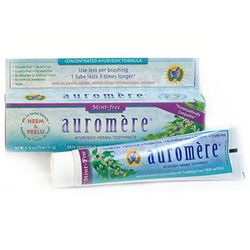 Ayurvedic Herbal Toothpaste | Mint Free