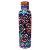 Artisan - Hand Crafted Copper Water Bottle - Sattvic Health Store  - An Ayurveda Products Store for Australia
