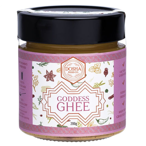 Goddess Grass Fed Ghee 200g