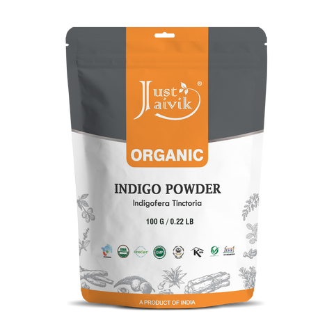 Indigo Powder | Indigofera Tinctoria  |  Natural Dye | USDA  | Organic