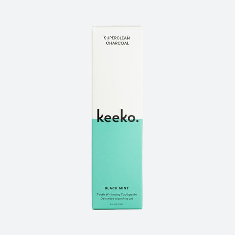 Keeko | Charcoal Toothpaste | Free from fluoride, paraben and SLS